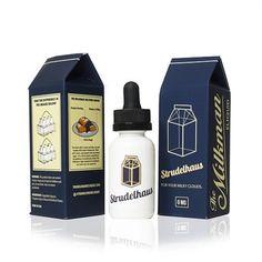 Strudelhaus - The Milkman E Liquid #vape #vaping #eliquid