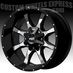 Moto Metal Wheels Brand | Moto Metal MO970 Machined Black Custom Wheels Rims