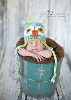 I want to learn to crocet.  She made a custom hat for me to give as a gift.
