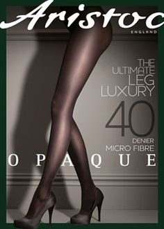 3d89b4291d5 Aristoc Opaque Micro Fibre 40 Denier Tights