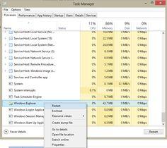Easy-to-refresh Windows Explorer in Windows 8