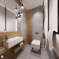łazienka w szarosciach - Mała łazienka, styl minimalistyczny - zdjęcie od All Design Agnieszka Lorenc