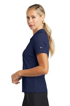 """<p><span style=""""font-size: small;""""><span style=""""font-family: Arial;"""">Nike Golf is known for classic polos engineered to take comfort to the next level. The Dri-FIT fabric technology delivers superior moisture management, while the stitch-trimmed shoulder panels and gussets make a distinctive difference. Flat knit collar. Tailored for a feminine fit with a two-button Y-placket and flat knit cuffs. Pearlized buttons are selected to complement the ..."""