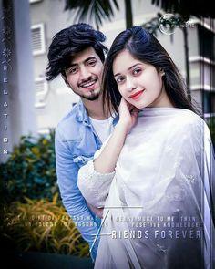 I don't love Jannat Zubair Best Couple Pictures, Love Couple Images, Cute Couples Photos, Cute Love Couple, Stylish Girls Photos, Stylish Girl Pic, Girl Pictures, Girl Photos, Cute Boy Photo