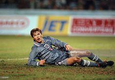 November 1996 International football Georgia v England David Beckham... News Photo | Getty Images