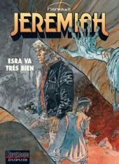 """Hermann, """"Esra va très bien - Jeremiah"""", t.28, éd. Dupuis."""