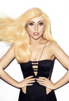 Lady Gaga ... I love her music, and her philosophy on life is amazing. She's a very educated woman, not your typical blonde pop bimbo.