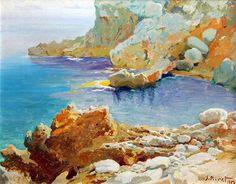 José Miret Aleu (Palma de Mallorca, 1912 - 1999)  Costa de Soller