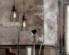 Historické-závesné-svietidlo-s-modernou-klietkou Retro, Lighting, Vintage, Home Decor, Cluster Pendant Light, Homemade Home Decor, Light Fixtures, Rustic, Lights