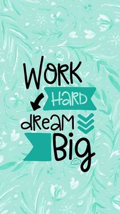 Free Colorful Smartphone Wallpaper - Work hard, dream big quotes quotes about life quotes about love quotes for teens quotes for work quotes god quotes motivation Happy Wallpaper, Phone Wallpaper Quotes, Quote Backgrounds, Cute Ipad Wallpaper, Thought Wallpaper, Cover Wallpaper, Desktop Wallpapers, Photo Wallpaper, Mobile Wallpaper