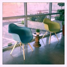 Eames PAW chairs