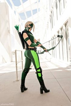 Artemis from Young Justice Cosplay http://geekxgirls.com/article.php?ID=3668