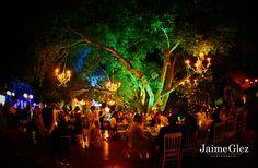 ♥ hacienda night weddings are so colorfull hacienda dzibikak, yucatan mexico #haciendaweddings