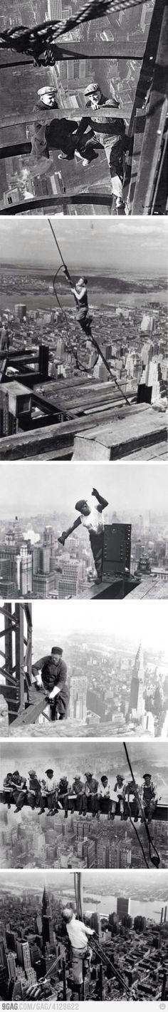 Build NYC skyscrapers