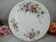 "Royal Doulton England Arcadia Dinner Plate -  10-3/4"", $10.00 each. 11 Available.  From SecondWindShop on etsy"