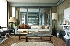 """Modern elegance"" living room"