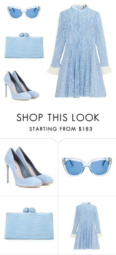 """Без названия #2386"" by xeniasaintp ❤ liked on Polyvore featuring Miu Miu, Kate Spade, Nancy Gonzalez and Topshop Unique"