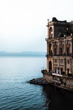 Napoli. Sunrise snapshot by Davide Mennitto on 500px