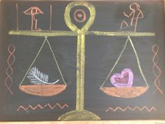 Waldorf ~ 5th grade ~ Ancient Egypt ~ The Scales of Justice