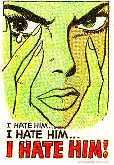 Romance Comics, Pulps, Sexy Art, and Beautiful Women Old Comics, Comics Girls, Vintage Comics, Pop Art Vintage, Retro Art, Vintage Romance, Jasper Johns, Arte Pop, Comic Books Art