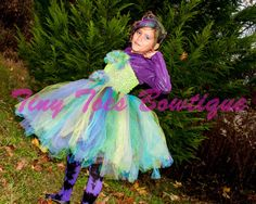 Peacock Inspired Tutu by Tiny Toes Bowtique on Etsy, $55.00. www.facebook.com/tinytoesbowtique2010