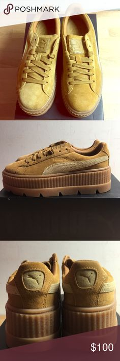 660cbbe0 Puma Cleated Creeper Suede Wn's Brand new shoes with box;) Puma Shoes  Sneakers Creepers