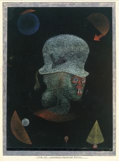 Astrological Fantasy Portrait, 1924 - Paul Klee (Swizterland, 1879-1940)