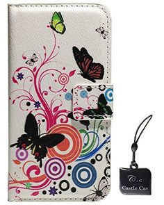 For HTC M8 Case - Castle Cas Painted Series Buterfly Flower Colorful Polka Dot Wallet Type Flip Magnet Design PU Leather Case Cover with Mobile Phone Cleaner Castle Cas http://www.amazon.com/dp/B00OVWRYDE/ref=cm_sw_r_pi_dp_Mxr4wb1GQJNTW