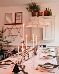 Vintage House: JULDUKNING 2013 / TABLE SETTING CHRISTMAS 2013