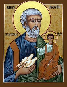 Icônes de Saint Joseph