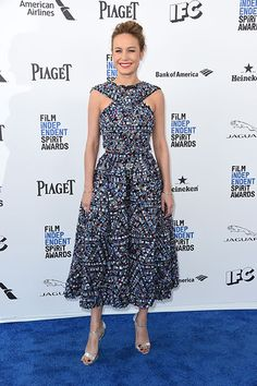 Brie Larson in Chanel at the 2016 Independent Spirit Awards #2016