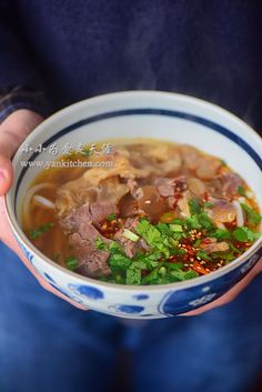 Beef Noodle Soup with Beef Shank and Tendon — Yankitchen