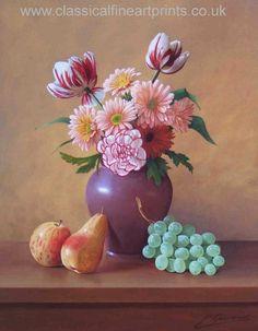 bodegones con flores al oleo - Buscar con Google