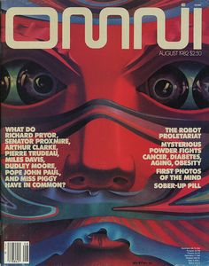 Omni Magazine, August 1982 by Eric Carl, via Flickr