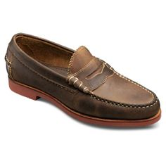 Sedona - Slip-on Penny Loafer Mens Casual Shoes by Allen Edmonds