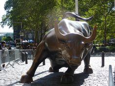 Merrill Lynch Bull - New York