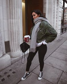 In this look Yasmine wears clothes from Converse, ASOS, Guess, Acne and Zara Chill Outfits, Mode Outfits, Casual Outfits, Fashion Outfits, Fashion Hats, Fashion Accessories, Womens Fashion, Fall Winter Outfits, Autumn Winter Fashion