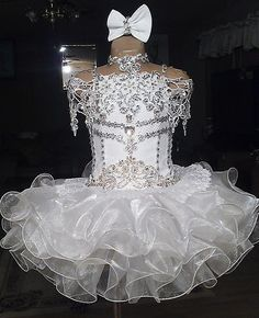 Your Choice Custom Made Glitz Pageant Dress Size 4 6 Girls | eBay