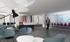 #interior - nytt #kontor 3d Illustrations, Conference Room, Table, Furniture, Design, Home Decor, Lattices, Decoration Home, Room Decor