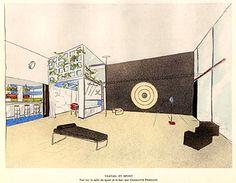 Charlotte Perriand (1903-1999) | 'Travail et Sport' | Salon d'Automne | 1927