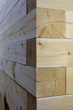 Modern Finnish Design Sauna Kyly by Avanto Architects Kyly is a massive wood sauna designed by Avanto Architects from Helsinki . Architecture Details, Interior Architecture, Interior Design, Interior Walls, Design Sauna, Store Concept, Wood Joints, Into The Woods, Wooden Walls