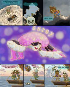 Undertale / Moana by Passionrising.deviantart.com on @DeviantArt