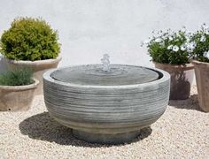 Turn your garden into a paradise with an outdoor garden fountain. And outdoor garden fountain can be a brilliant addition for your garden area. Stone Fountains, Small Fountains, Indoor Water Fountains, Indoor Fountain, Garden Fountains, Contemporary Outdoor Fountains, Modern Fountain, Patio Fountain, Tabletop Fountain