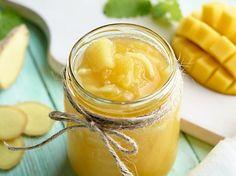 Dżem z mango z imbirem