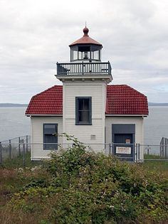 Burrows Island Lighthouse, Washington at Lighthousefriends.com #scenicwa