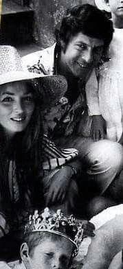 Talitha, John Paul and Tara, 71 Bohemian Chic Fashion, Bohemian Style, Boho Chic, Vintage Fashion, Hippie Bohemian, Palestinian Wedding, Talitha Getty, Gypse, Grey Gardens