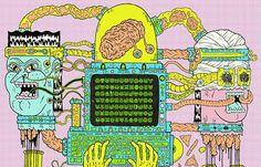 Juxtapoz Magazine - Getting Weird with Josh Freydkis