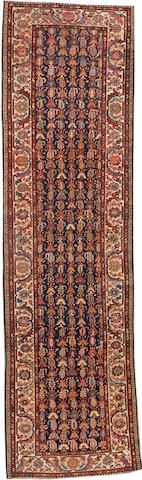 Malayer runner  Central Persia  circa 1920  size approximately 3ft. 3in. x 12ft.
