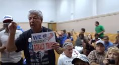 'Let us in!' Dem rep moves town hall mid-meeting with armed guards, still can't shake vocal Trump supporters