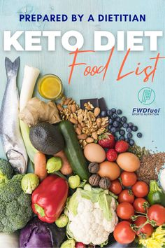 This Keto Diet Food List includes our top 10 tips that are essential to follow in order to be successful on losing weight fast! Sports Nutrition, Diet And Nutrition, Losing Weight, How To Lose Weight Fast, Dietitian, Healthy Weight Loss, Food Hacks, Cobb Salad, Diet Recipes